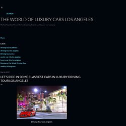 Ride 6 different exotic cars in weekly driving tour in Los Angeles.