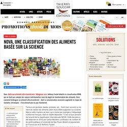 PNNS vs science NOVA, une classification des aliments basée sur la science