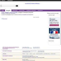 Enseigner la classification des animaux - Direction des services départementaux de l'Éducation nationale de la Haute-Saône