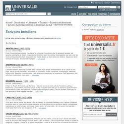 écrivains brésiliens - classification thématique - Encyclopædia Universalis