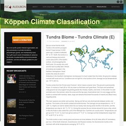 The Köppen Climate Classification System