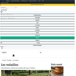 Les volailles : Classification, critères de qualité, élevages et labels - Technologie culinaire