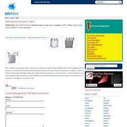 FIBC Bag manufacturers