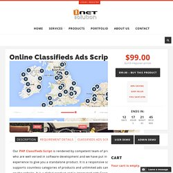 PHP Classifieds Script, Classified ads Listing Script