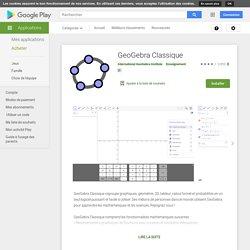 GeoGebra – Géométrie Maths