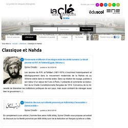 Classique et Nahda — Arabe