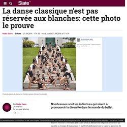 La danse classique n'est pas réservée aux blanches: cette photo le prouve