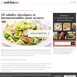 15 salades classiques et incontournables pour assurer