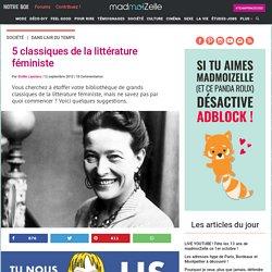 5 classiques de la littérature féministe