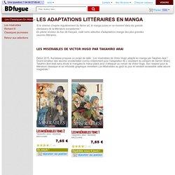 Les classiques de la littérature en manga