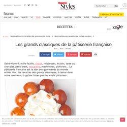 Recettes des grands classiques de la pâtisserie française - L'Express Styles
