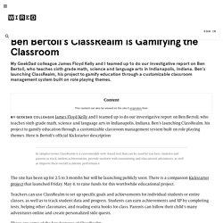 Ben Bertoli's ClassRealm Is Gamifying the Classroom