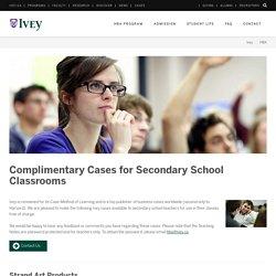 Ivey HBA Classroom Cases