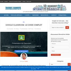Le blog de Thierry VANOFFE : Coach Google Apps