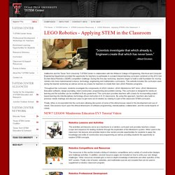 LEGO Robotics - Applying STEM in the Classroom