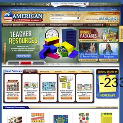 Classroom Decorations, Classroom Supplies, Teacher Supply Store, Teacher Supplies Online