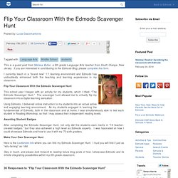 Flip Your Classroom With the Edmodo Scavenger Hunt