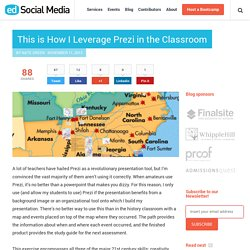 This is How I Leverage Prezi in the Classroom