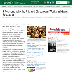 5 Reasons Why the Flipped Classroom Works in Higher Education - HigherEd Tech Decisions
