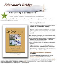 Kids' Crossing in the Classroom: A Science Education Resource for Elementary and Middle School Educators