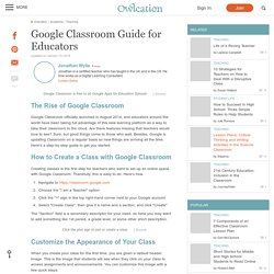 Google Classroom Guide for Educators