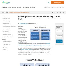 The flipped classroom: in elementary school, too? - DreamBox Learning