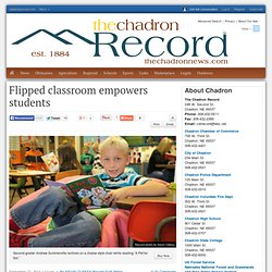 Flipped classroom empowers students : Schools