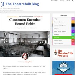 Classroom Exercise: Round Robin