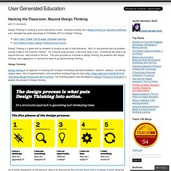 Hacking the Classroom: Beyond Design Thinking