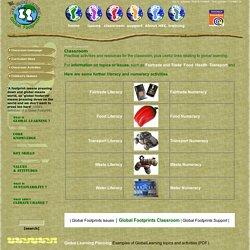 Classroom homepage