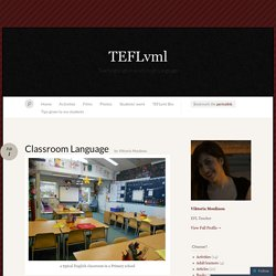 Classroom Language « TEFLvml