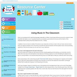 The Super Simple Learning Resource Center