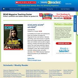 READ Magazine: Fiction, nonfiction, and reader's theater for grades 6–10
