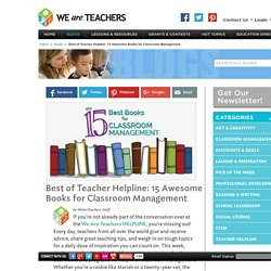 The 15 Best Classroom Management Books