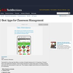 Photos: 7 Best Apps for Classroom Management