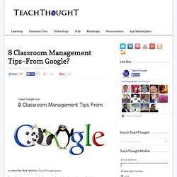 8 Classroom Management Tips