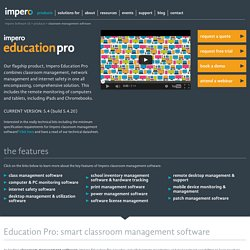 Classroom Management Software