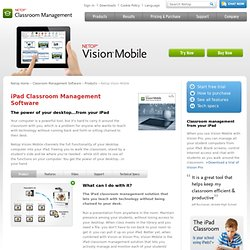 Vision Mobile Classroom Management