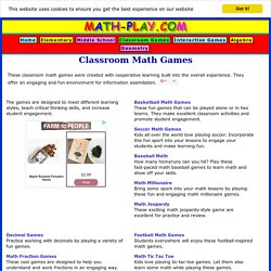 Classroom Math Games (Math-Play.com)