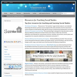 Resources for Teaching Social Studies