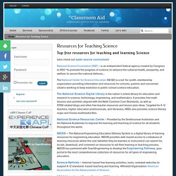 Resources for Teaching Science