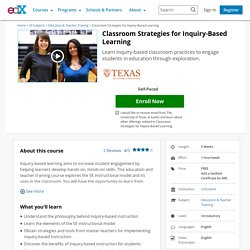 Classroom Strategies for Inquiry-Based Learning