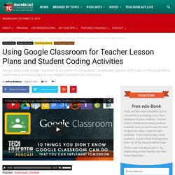 Google Classroom: It's for more than just student homework