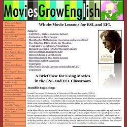 Using Movies in the ESL/EFL Classroom