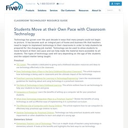 Classroom Technology Resource Guide