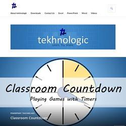 Classroom Countdown – tekhnologic
