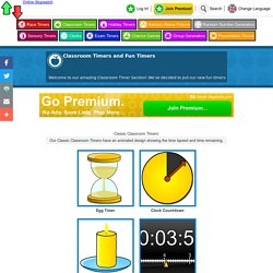 Classroom Timers - Fun Timers