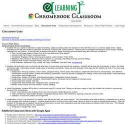 Classroom Uses - Chromebook Classroom
