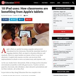 18 iPad uses: How classrooms are benefiting from Apple's tablets