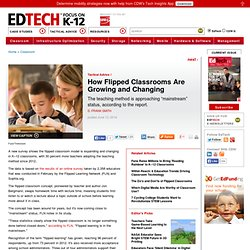 How Flipped Classrooms Are Growing and Changing